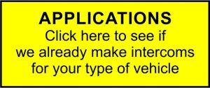 vehicle intercom system Applications