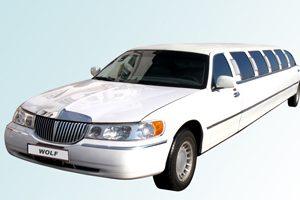limo-white