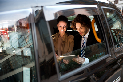 vehicle intercom system used on Limo ride with Wolf Intercom