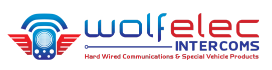 Vehicle Intercom Systems by Wolf Elec Intercoms Logo