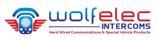 Vehicle Intercom Systems by Wolf Elec Intercoms Logo
